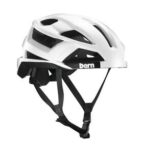 Bern FL-1 Pavé MIPS casco per bici bianco